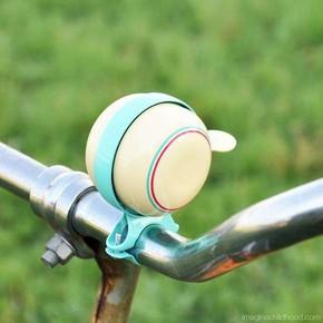 Kikkerland - Kikkerland RETRO BIKE BELL IVORY Bisiklet Zili