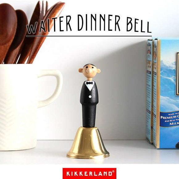 Kikkerland WAITER DINNER BELL Garson Yemek Zili