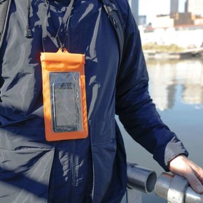 Kikkerland WATERPROOF PHONE SLEEVE Su Geçirmez Telefon Kılıfı - Thumbnail