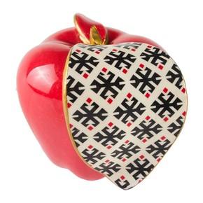 KİLİM Desen Dekoratif Elma Büyük Boy - Thumbnail