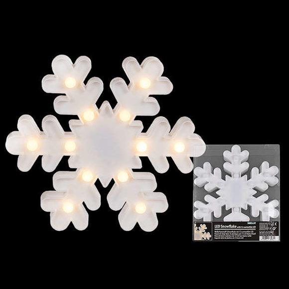 LED SNOWFLAKE Işıklı Kar Tanesi Gece Lambası