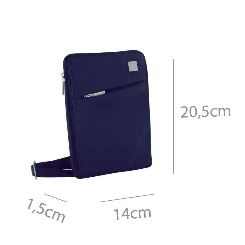Lexon Airline LN310B Mini Tablet Çantası Mavi