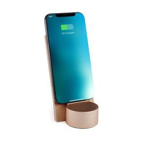 LEXON - Lexon City Energy LD141D9 Kablosuz Şarj Cihazı ve Bluetooth Hoparlör