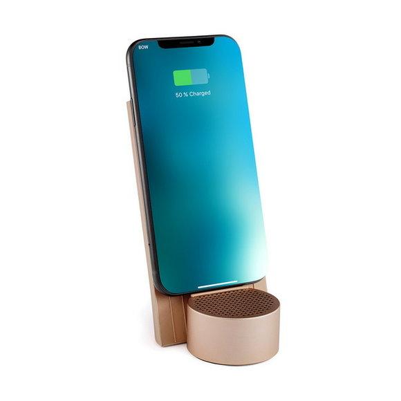 Lexon City Energy LD141D9 Kablosuz Şarj Cihazı ve Bluetooth Hoparlör