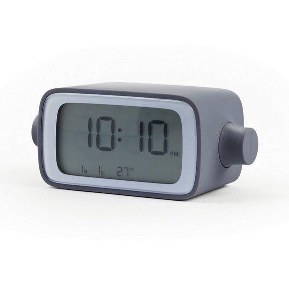 Lexon DreamTime Alarm Saat Gri