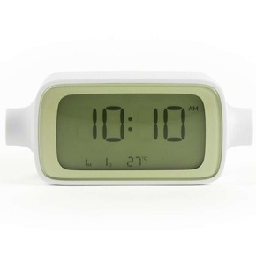 LEXON - Lexon Dream Time Alarm Saat Yeşil Beyaz