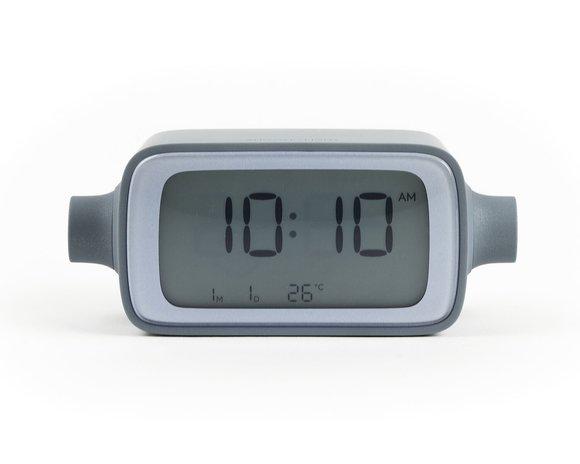 Lexon DreamTime Alarm Saat Gri Mavi