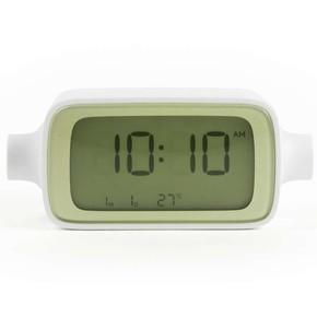 LEXON - Lexon DreamTime Alarm Saat Yeşil Beyaz