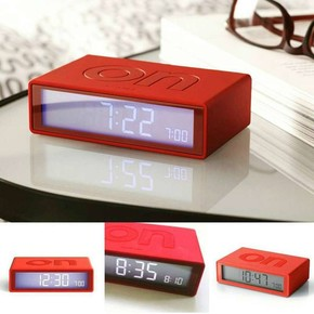 LEXON - Lexon Flip LR130R5 Dijital Saat Kırmızı