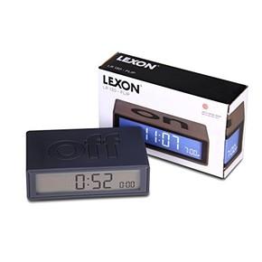 Lexon Flip LR130N Dijital Saat Siyah - Thumbnail