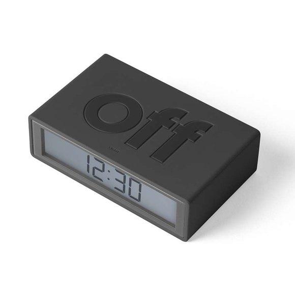 Lexon Flip LR130G3 Alarm Saat Koyu Gri