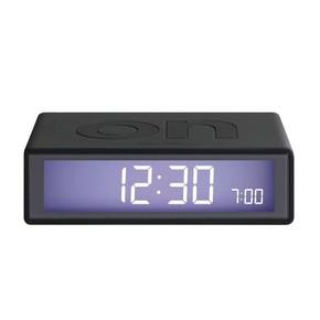 LEXON - Lexon Flip LR130G3 Alarm Saat koyu Gri