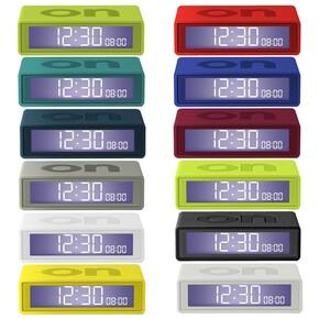 Lexon Flip LR130G3 Alarm Saat Koyu Gri - Thumbnail