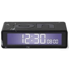 Lexon Flip LR143LMN Travel Alarm Saat Siyah Mermer - Thumbnail