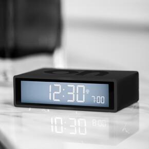 LEXON - Lexon Flip Plus LR150G3 Alarm Saat Koyu Gri