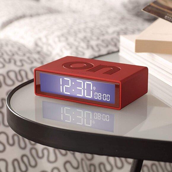 Lexon Flip Plus LR150R9 Alarm Saat Kırmızı