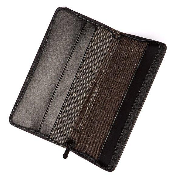 Lexon Hobo LN172M Pasaport Cüzdanı Kahverengi