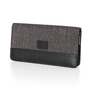 Lexon Hobo LN172M Pasaport Cüzdanı Kahverengi - Thumbnail
