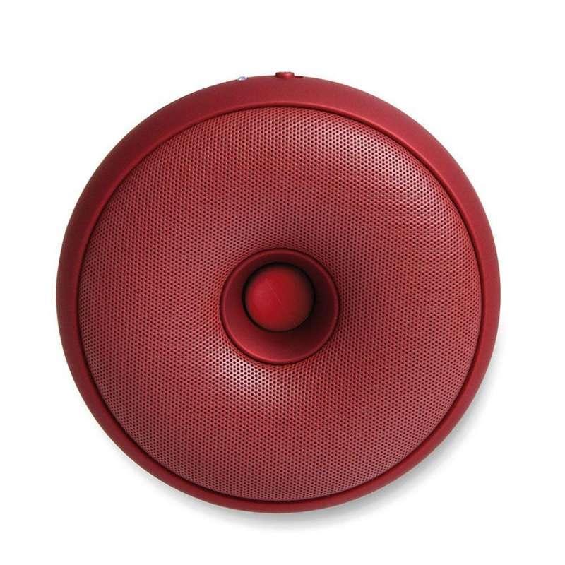 Lexon HOOP Bluetooth Hoparlör Kırmızı