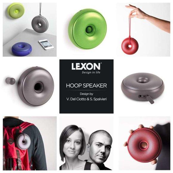 Lexon HOOP Bluetooth Hoparlör Siyah