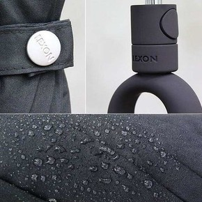 Lexon MINI HOOK LU21N6 Şemsiye Siyah - Thumbnail