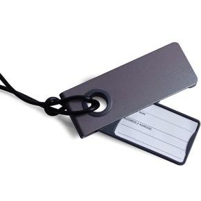 LEXON - Lexon NEO Bagaj Etiketi Metalik Gri