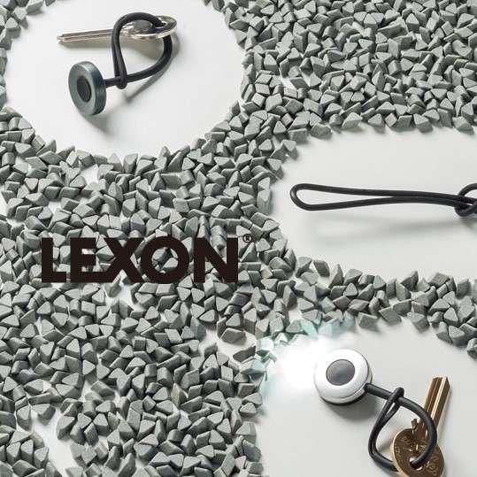 Lexon NEO Key Light Anahtarlık Metalik Gri