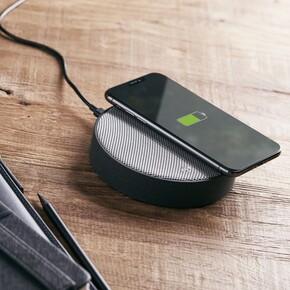 Lexon OSLO LA116GG Kablosuz Şarj Cihazı ve Bluetooth Hoparlör - Thumbnail