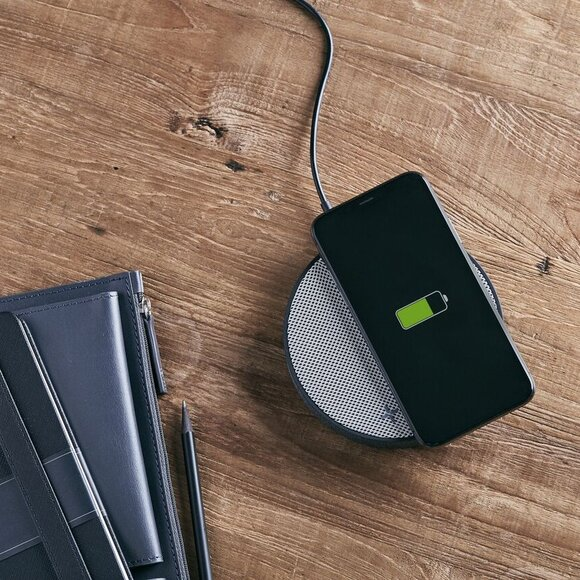 Lexon OSLO LA116GG Kablosuz Şarj Cihazı ve Bluetooth Hoparlör