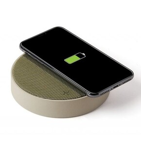 LEXON - Lexon OSLO LA116GV Kablosuz Şarj Cihazı ve Bluetooth Hoparlör
