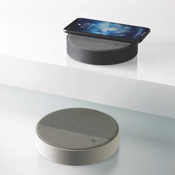 Lexon OSLO LA116GV Kablosuz Şarj Cihazı ve Bluetooth Hoparlör