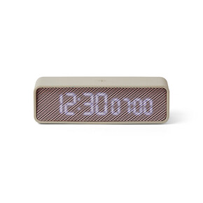LEXON - Lexon OSLO LR145GP Alarm Saat Gri Pembe