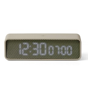 LEXON - Lexon OSLO LR145GV Alarm Saat Gri Yeşil