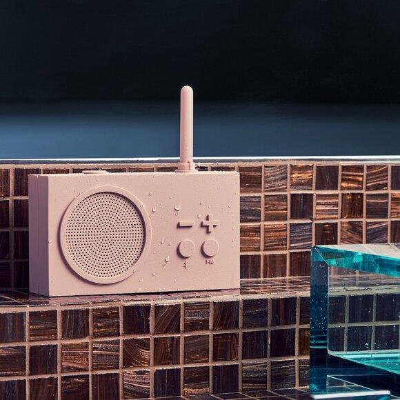 Lexon Tykho 3 Bluetooth Hoparlör ve Radyo Pembe LA119P8