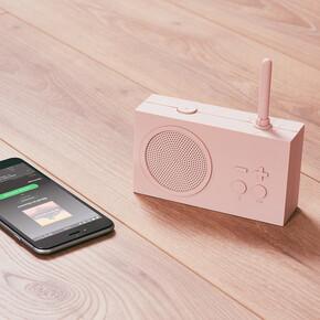Lexon Tykho 3 Bluetooth Hoparlör ve Radyo Pembe LA119P8 - Thumbnail