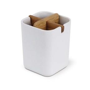 LEXON - Lexon Zen LH39W8 Cup Bambu Beyaz