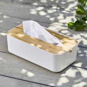 Lexon Zen LH43W8 Tissue Box Peçetelik Beyaz - Thumbnail
