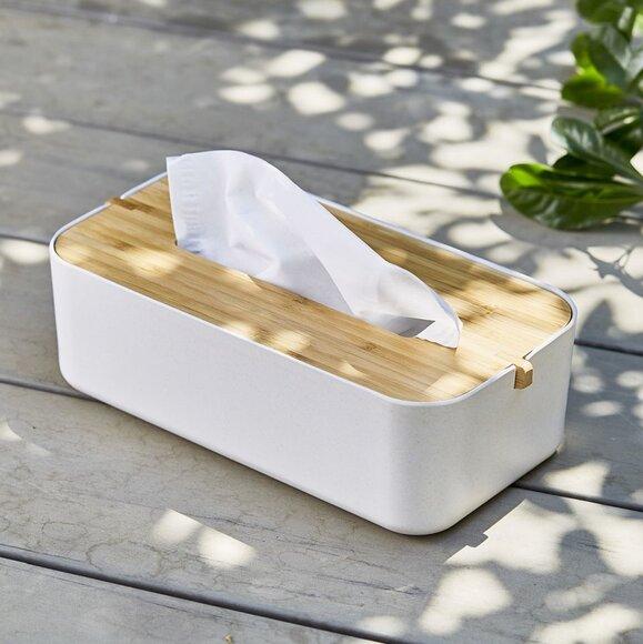 Lexon Zen LH43W8 Tissue Box Peçetelik Beyaz