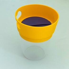 MamaCup - MamaCup Atıştırmalıklar için Dökülmeyen Kap Sarı