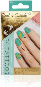 NPW METALLIC NAIL & CUTICLE TATTOOS Metalik Tırnak ve Kütikül Dövme Seti