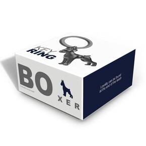 Metalmorphose BOxer Köpek Anahtarlık - Thumbnail