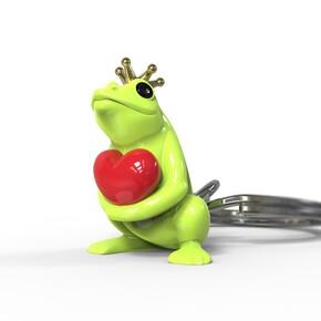 METALMORPHOSE - Metalmorphose Kurbağa Prens Anahtarlık
