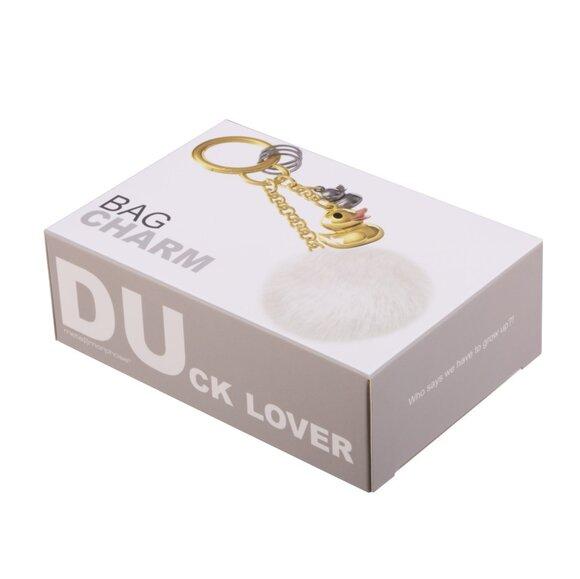 Metalmorphose DUck Lover Peluşlu Ördek Pomponlu Anahtarlık