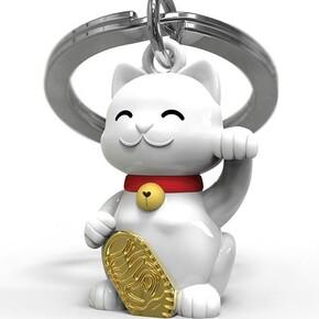 METALMORPHOSE - Metalmorphose SMiling Neko Şanslı Kedi Anahtarlık