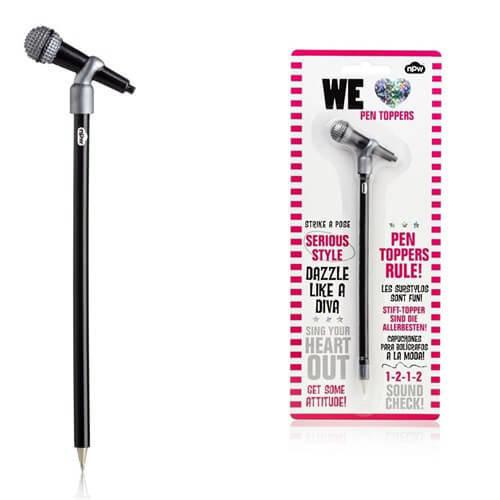 MİKROFONLU Tükenmez Kalem ve Mikrofon Başlık