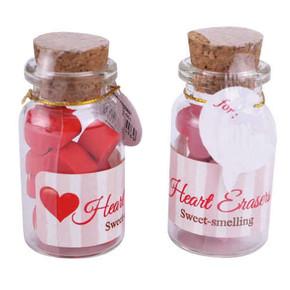 Qline - MINI HEART Mini Kalp Silgiler