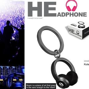 METALMORPHOSE - Metalmorphose HEadPhone Kulaklık Anahtarlık Siyah