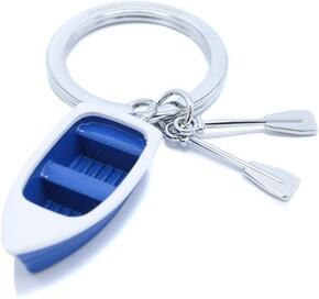 METALMORPHOSE - Metalmorphose ROwboat Sandal Sandal Anahtarlık Mavi Beyaz