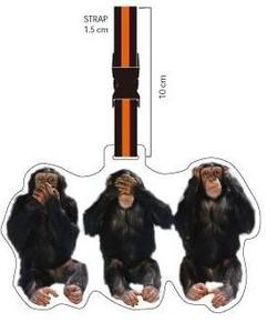 Nektar - Nektar Lh173 3 Maymun Valiz Etiketi