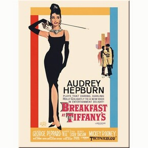 Nostalgic Art - Nostalgic Art Breakfast at Tiffany's Magnet 14180